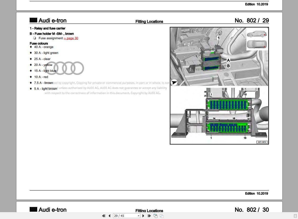 Audi 2020 6 05gb Package Dvd Pdf Repair Manual  Workshop