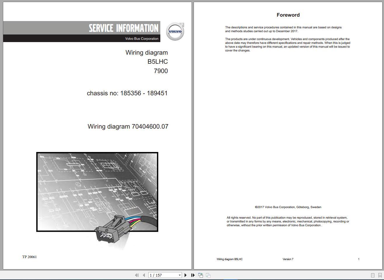 Volvo Trucks Ewd Wiring Diagrams  All Models  Dvd