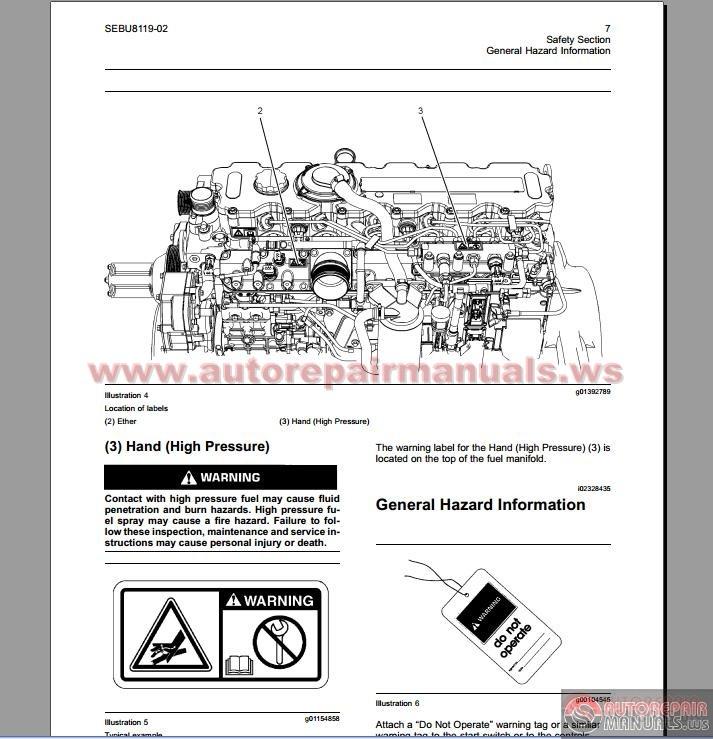 Perkins 1100 Service manual Book