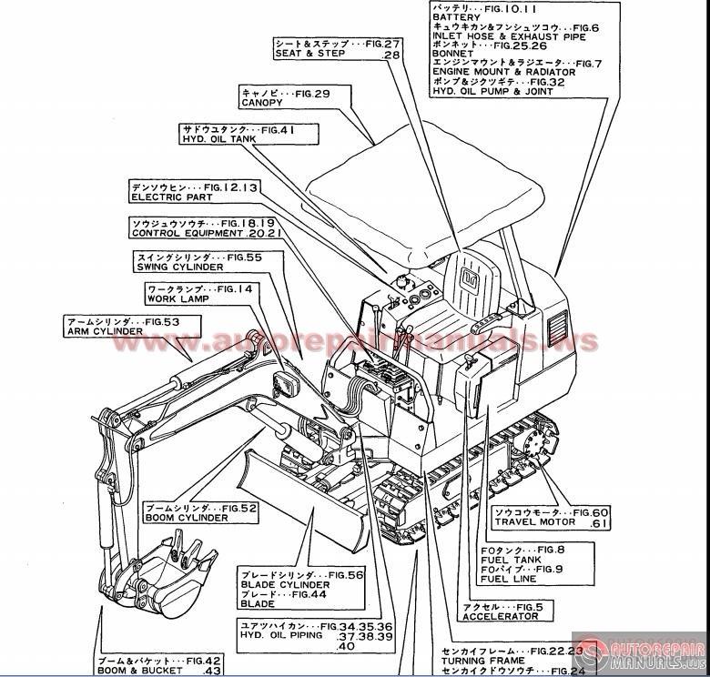 Yanmar vio35 3 Parts Manual