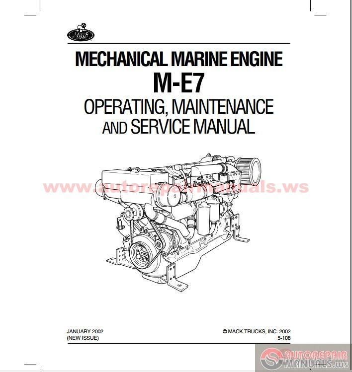 Mack E7 Manual