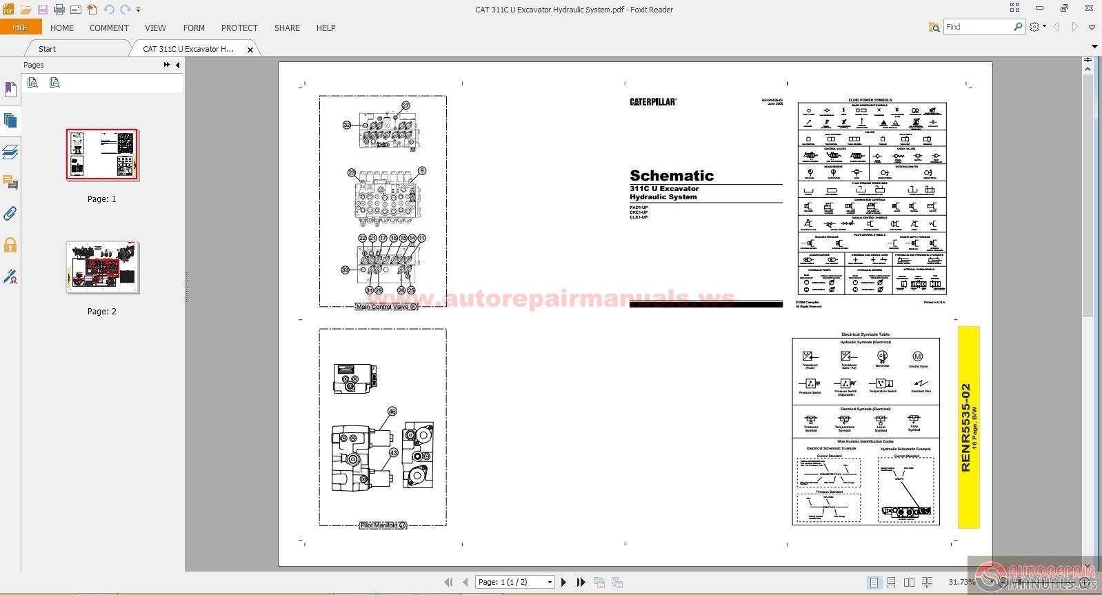 Cat m320 Manual