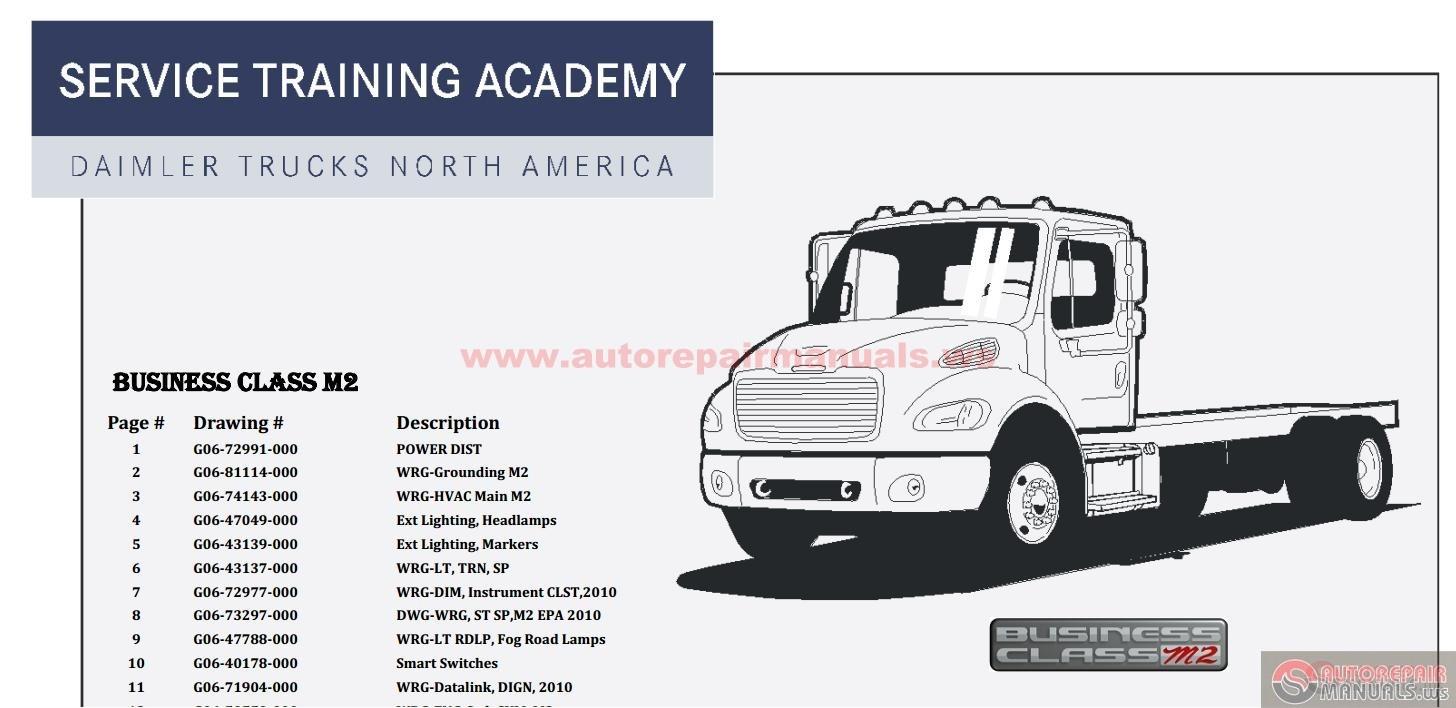 Freightliner M2106 service manual
