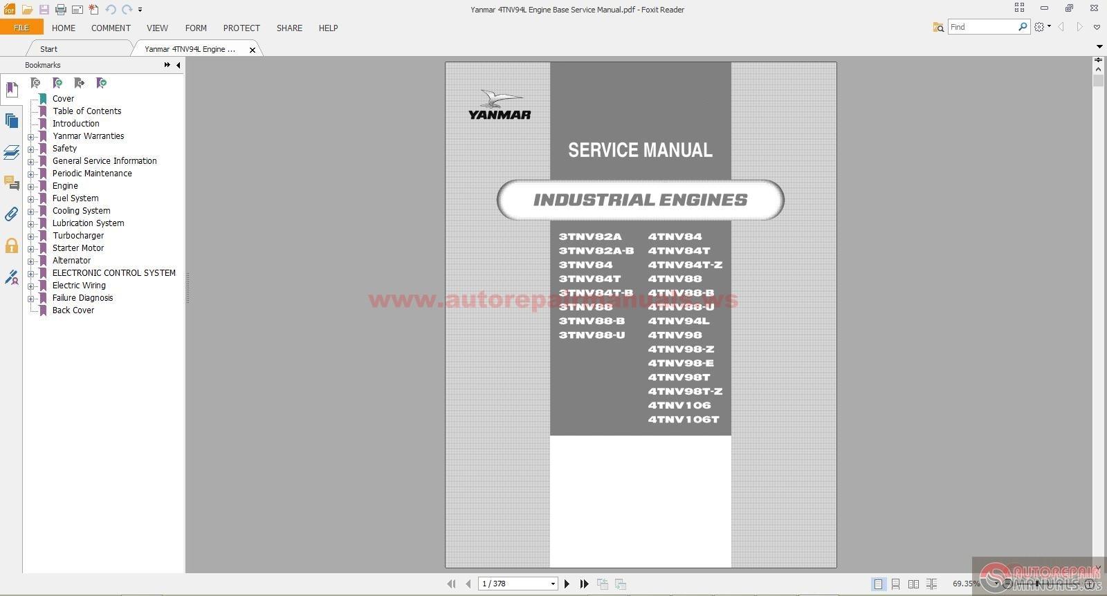 Yanmar generator manual downloads Yanmar Engine User Manuals