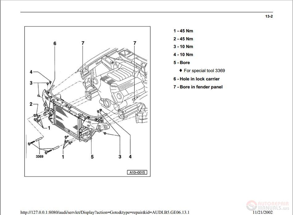 Audi A4 Repair Manual