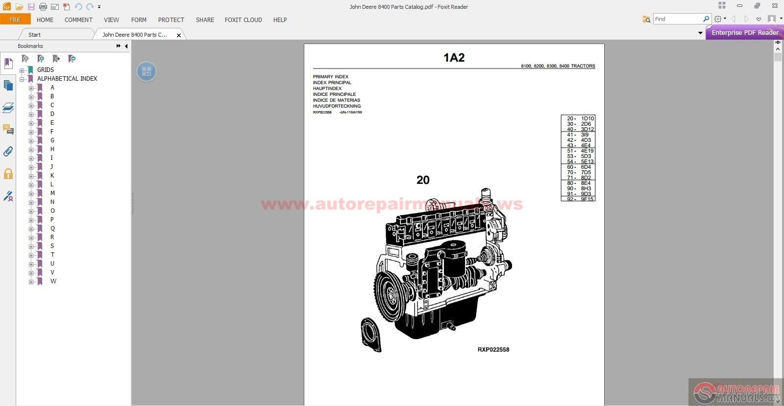 8400 Jd service Manual