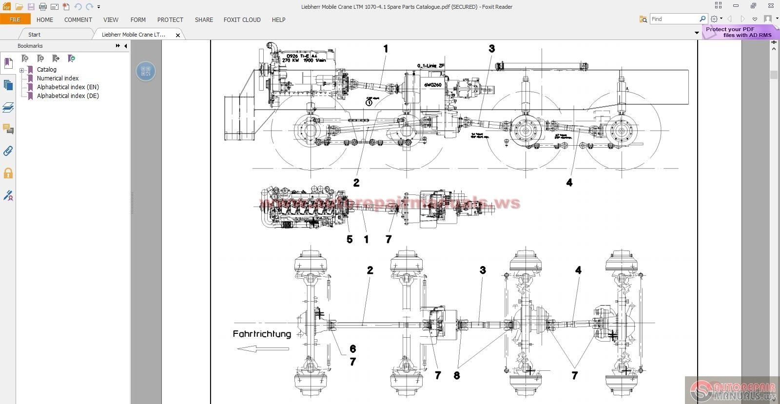 Liebherr Mobile Crane Ltm Spare Parts Catalogue on Palfinger Wiring Diagrams