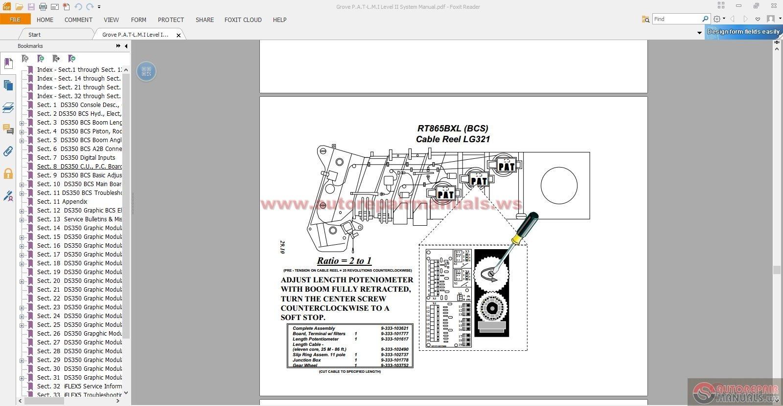 Grove Rt635c Operators Manual