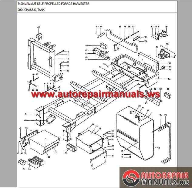 Dressta td7 Parts Manual