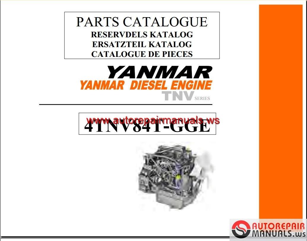 Yanmar Vio50 2a operators Manual