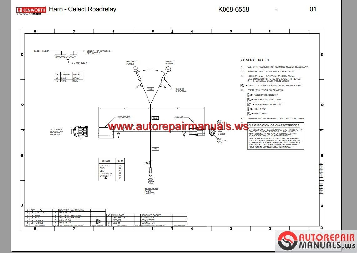 Wiring Diagram Kenworth Cecu3 Schematics Diagrams Truck Wiper For T800 The 1999