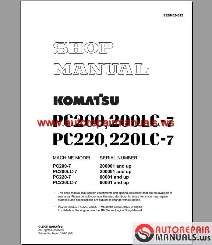 Komatsu Pdf manual
