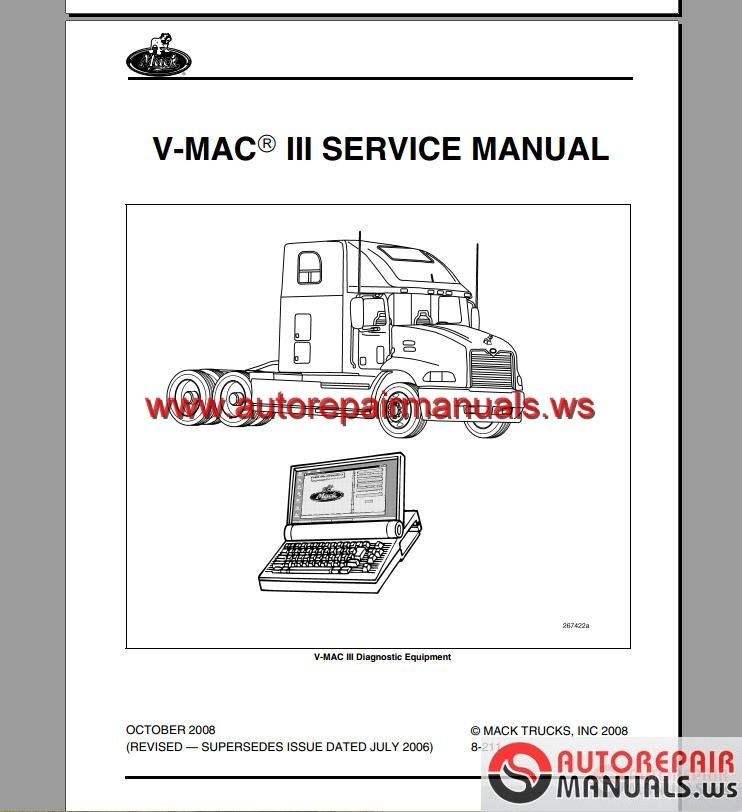 Mack Mp8 service Manual Pdf
