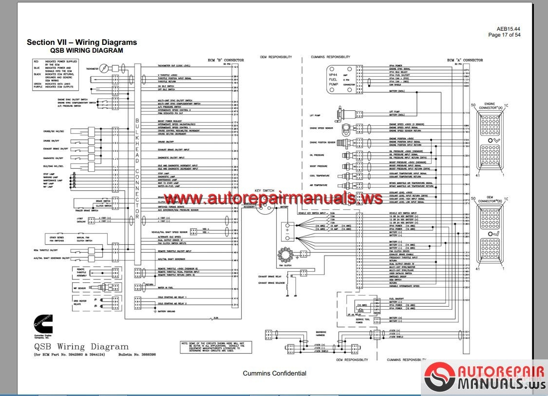 Wiring Diagram For International 7400 Electrical Truck Cummins Full Dvd Auto Repair Manual Forum 2007 Schematics Ecm