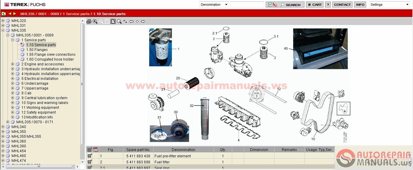 Kobelco Crane Parts Manual