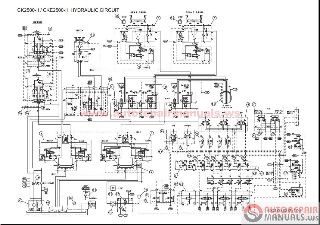 Tronair Hydraulic Wiring Diagram Manual Diagrams Mac Pneumatic Valve Kobelco Crane All Shop Operator Maintenance Pump Solenoid