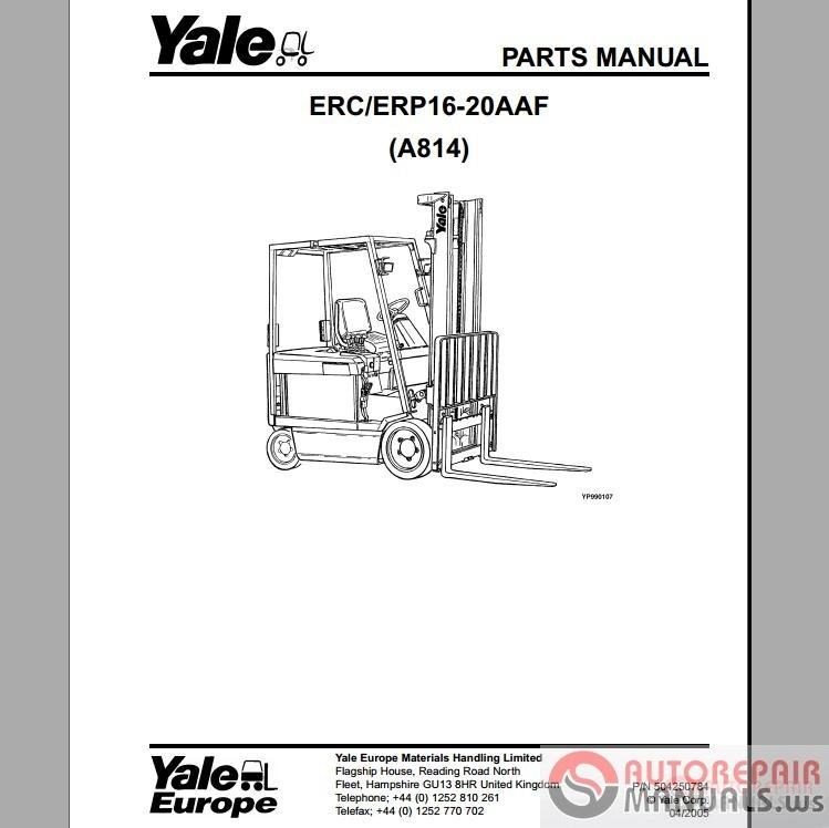 Toyota forklift Manual model fb25
