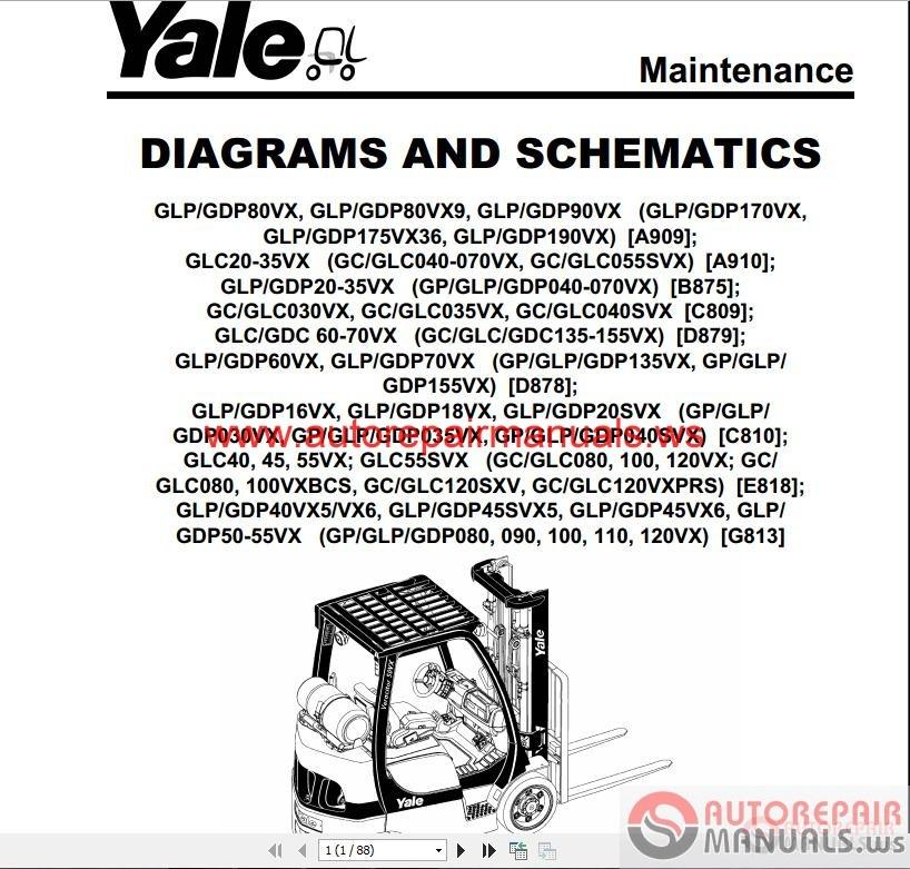 L83c Yale Forklift Manual