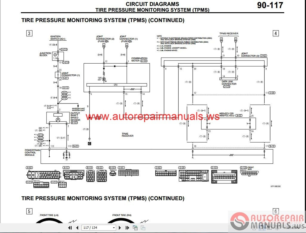 Auto Wiring Diagrams For Mitsubishi Galant 2002 Engine Diagram 2007 Repair Manual Headlight