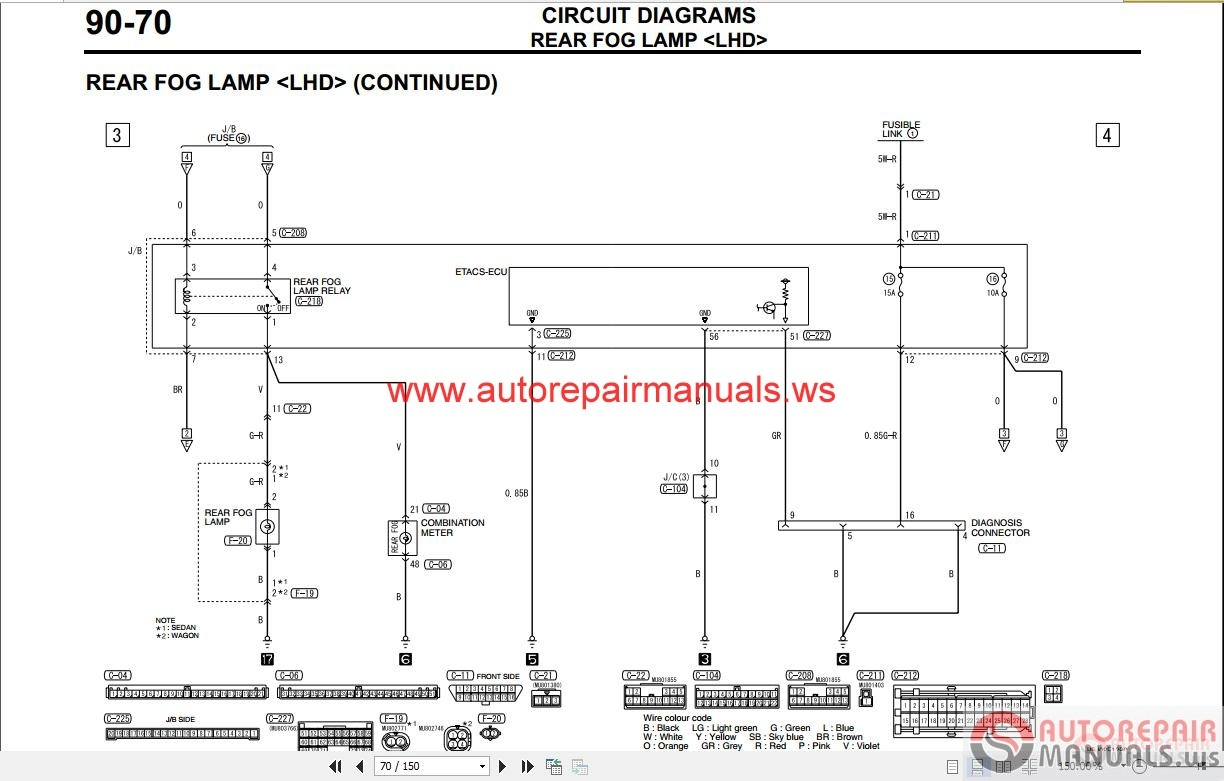 Wiring Diagram Mitsubishi Lancer Diagrams Efcaviation Com 1996 2006