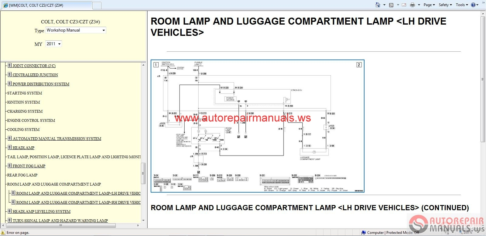 Mitsubishi Outlander Body Parts Diagram Not Lossing Wiring 2007 Colt 2011 Service Manual Auto Repair Sportengine Dia