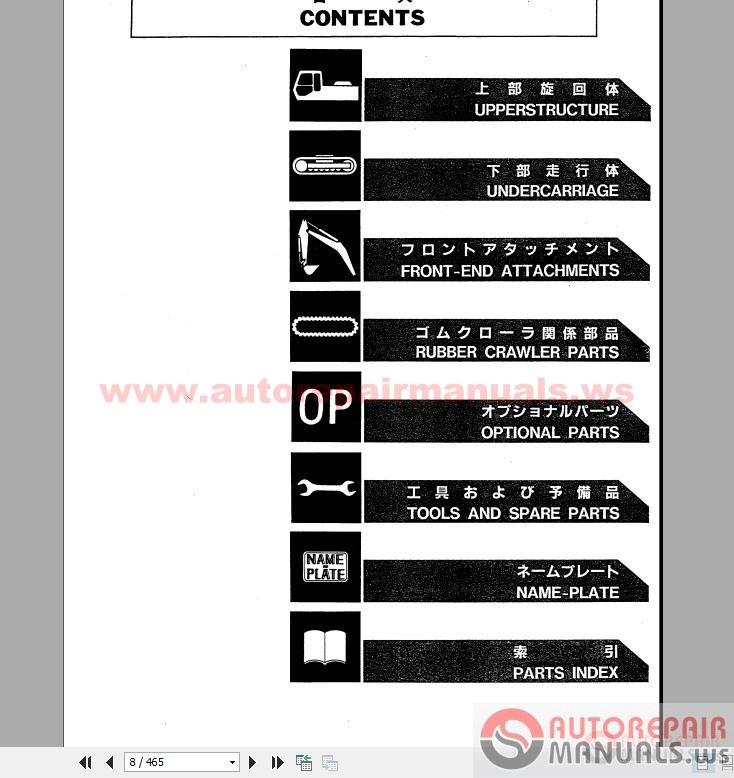 Hitachi Ex120 2 manual Hitachi EX120 2 Repair Manual