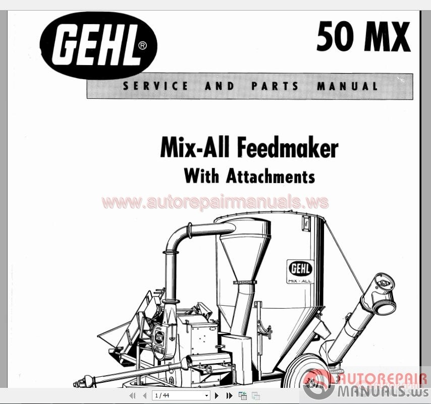 gehl ctl65 compact track loader parts manual download