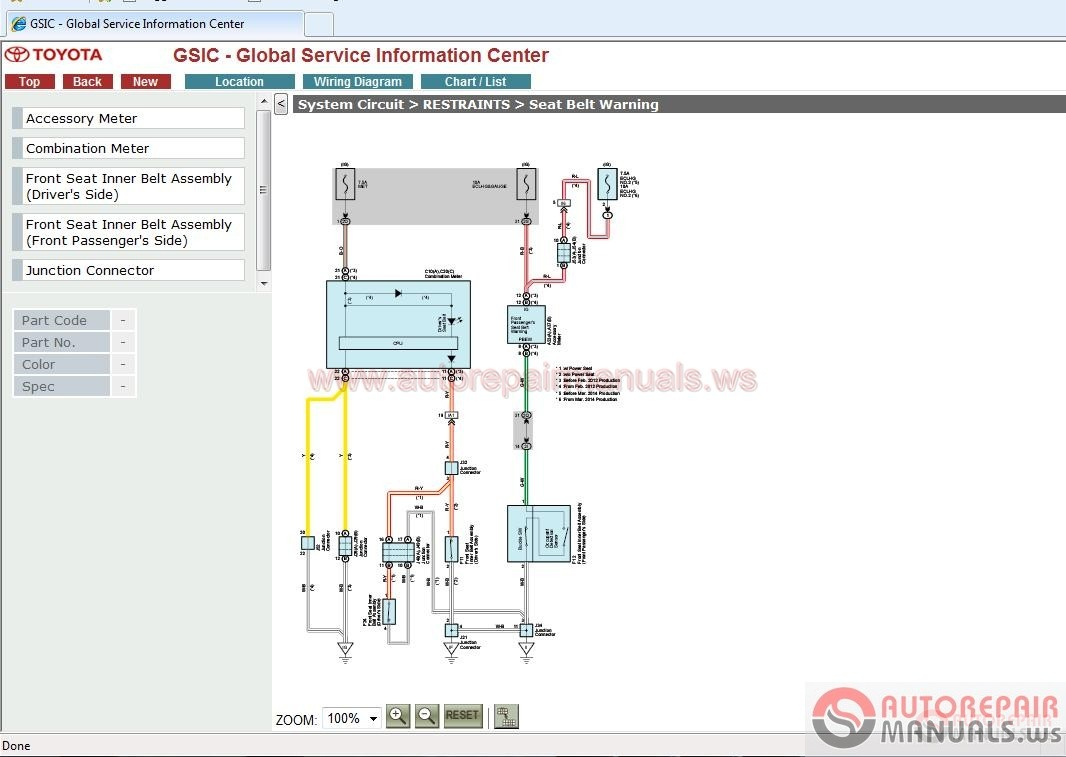 Toyota Gsic Repair Manual Wiring Diagram Body And Etc Full 2005 Scion Xa Free Download Img