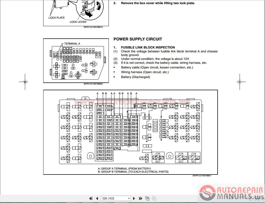 Isuzu Npr Fuse Box Diagram Cargo Light Wiring Library 2005 Hino 238 258lp 268 338 Series Workshop Manuals3 Owners Manual 28 Images