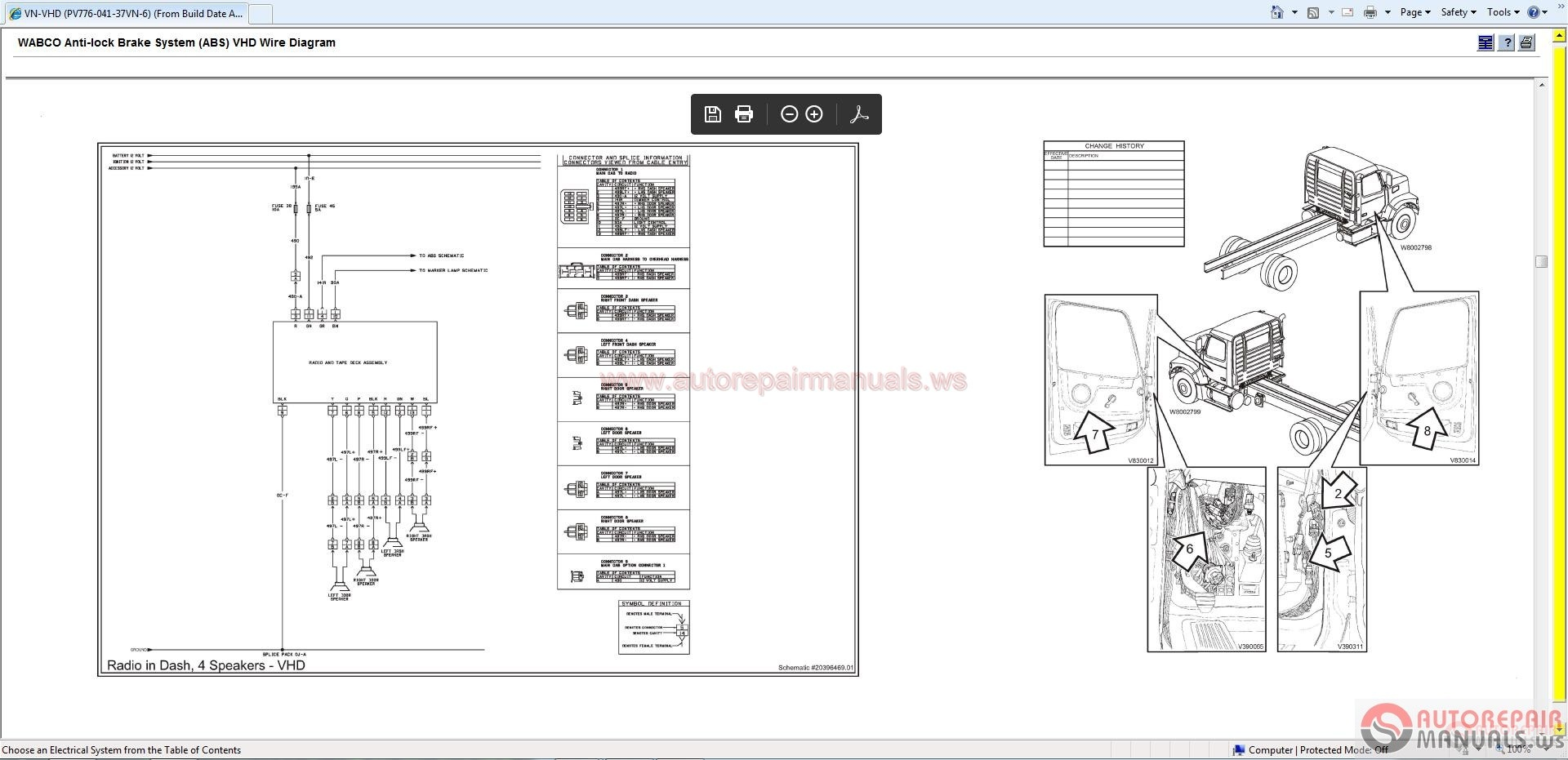 Volvo Vhd Wiring Diagram Diagrams Western Star Schematic Schematics 2002 Xc70 Electrical