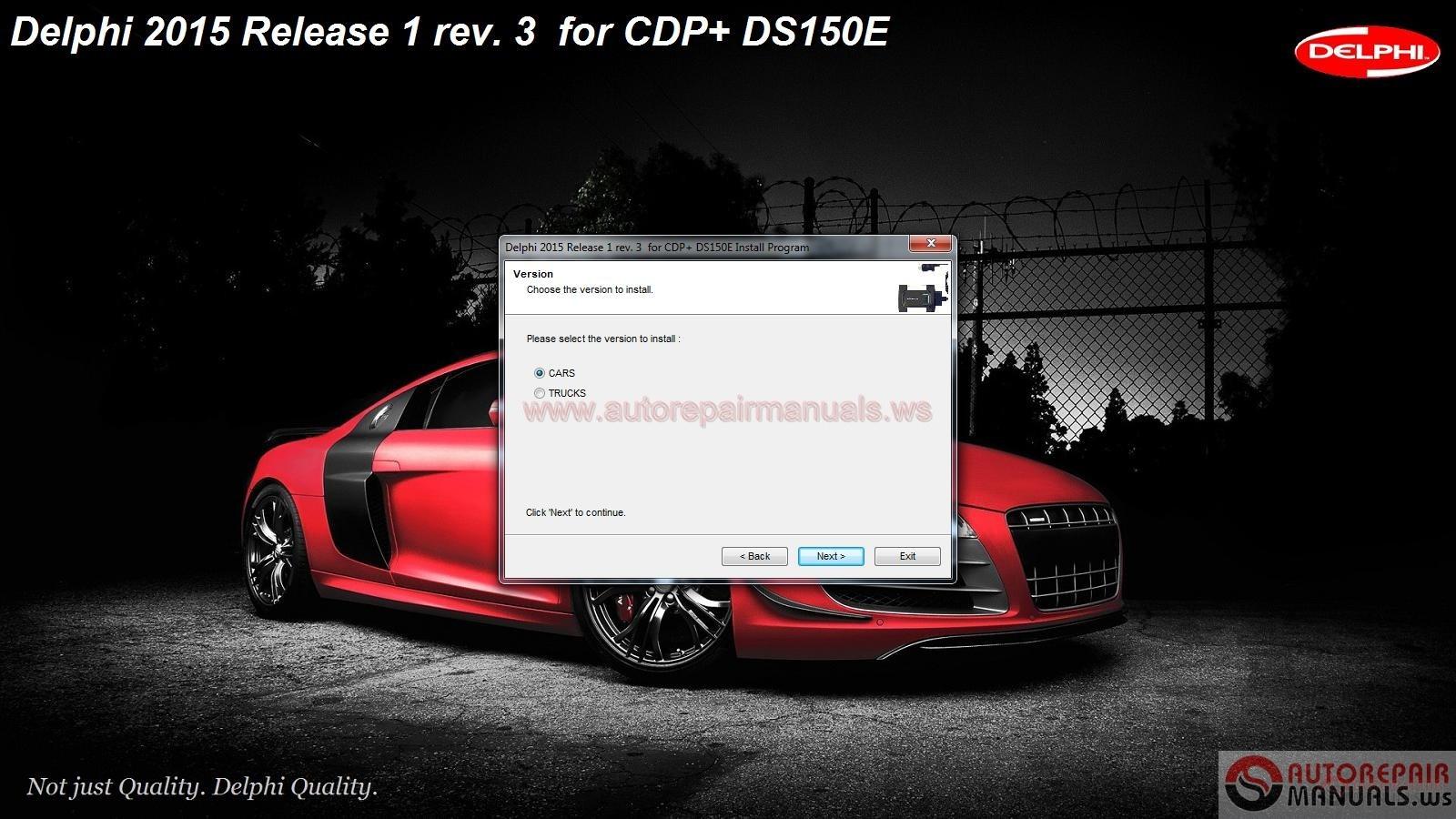 How To Reset Ecm >> Delphi Cars & Trucks DS150E [R1.2015] Full Unlocked ...