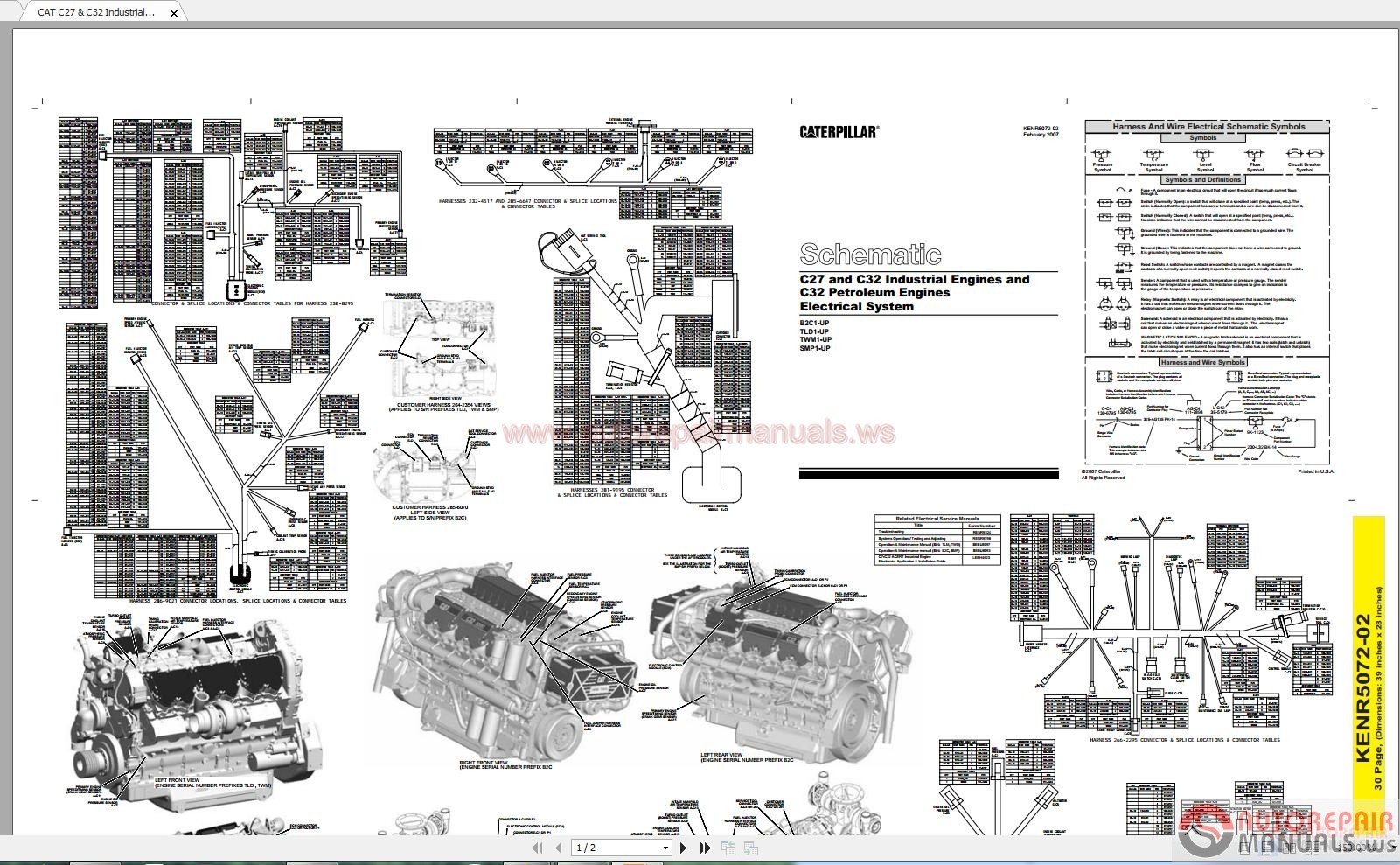 Cat c32 maintenance Manual
