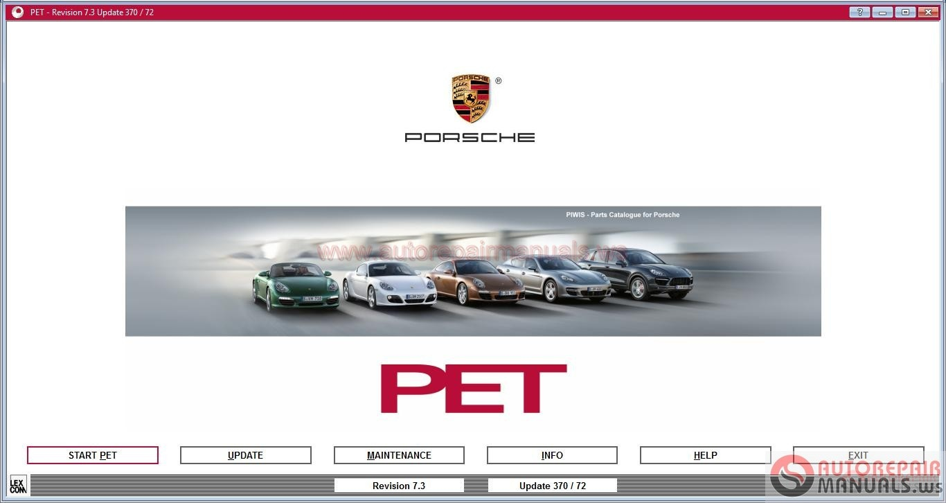 Porsche Pet 7 3 Update 4160 03 2017 Full Instruction Auto Repair Manual Forum Heavy