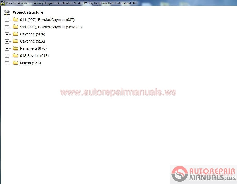 Porsche Wiring Diagram 2017 Version V1 4 0 167 Auto Repair - Wiring Diagram