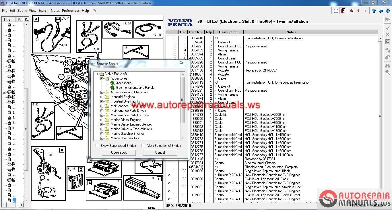 Auto Repair Manuals   Arm0018  Volvo Penta Epc  03 2017