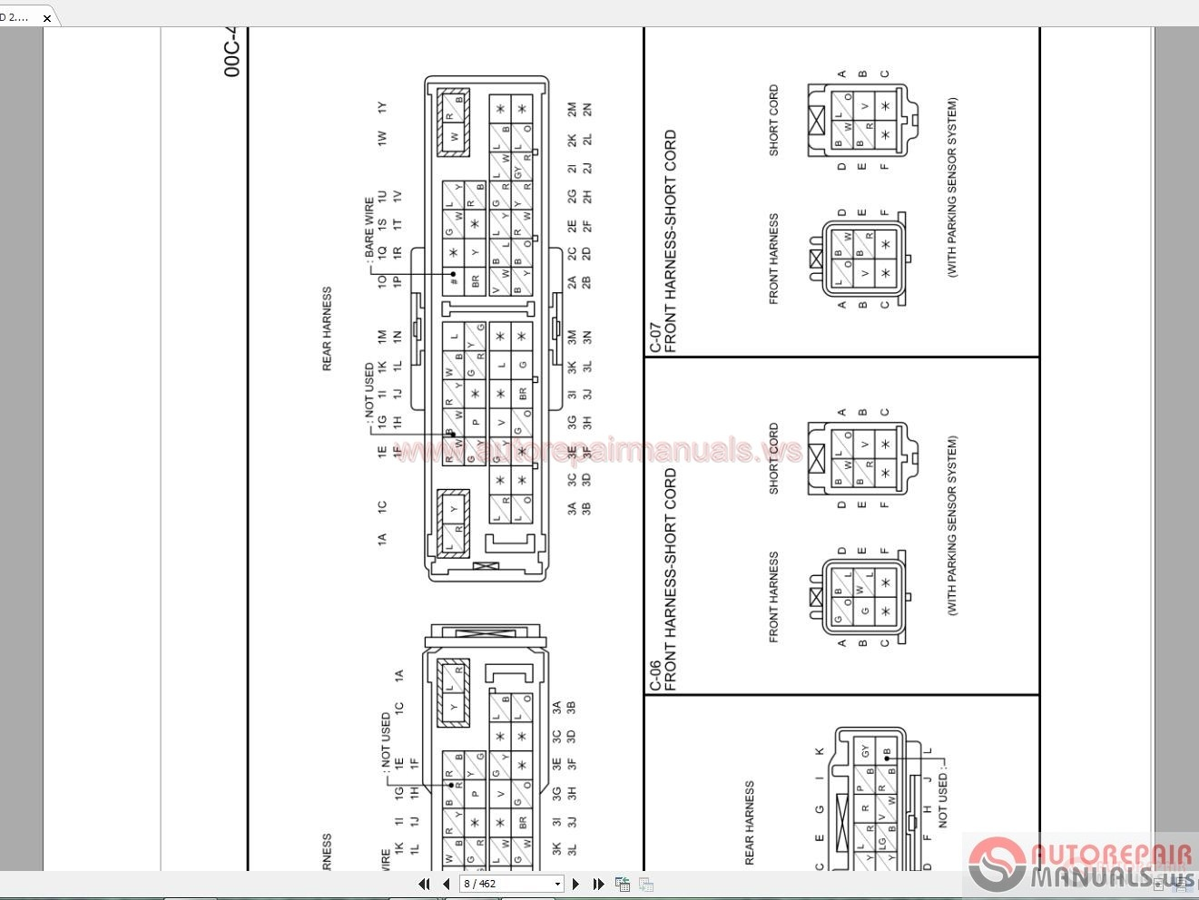 mazda engine schematics mazda wiring schematics mazda cx-5 2016 4wd 2.2 wiring diagram | auto repair ...
