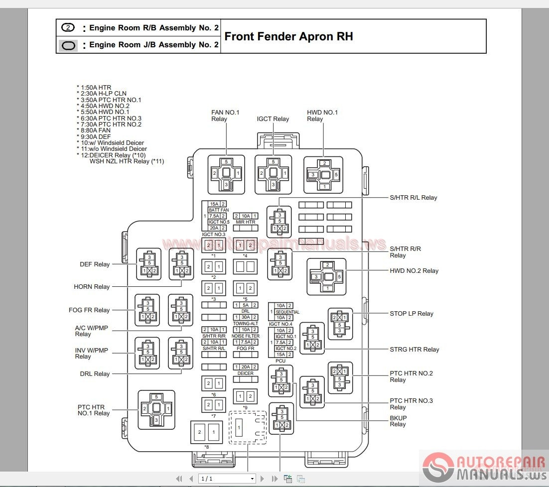 2001 rav4 fuse box diagram