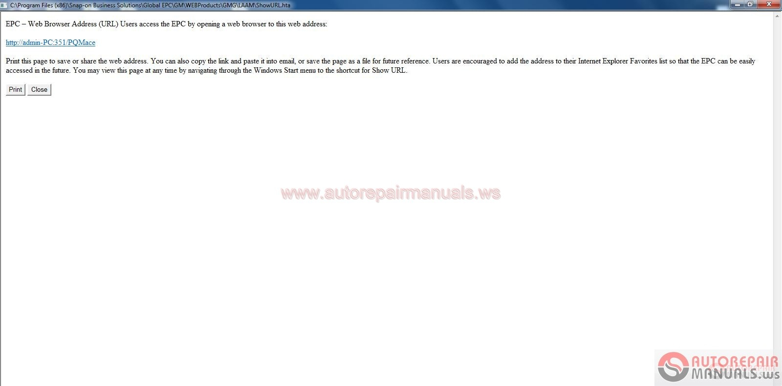 Auto Repair Manuals Arm0036 General Motors Gm Laam Epc