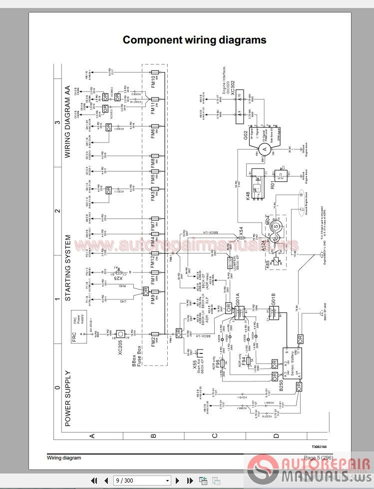 fleetwood rv aux start wiring diagram volvo truck fm4 wiring diagram | auto repair manual forum ...