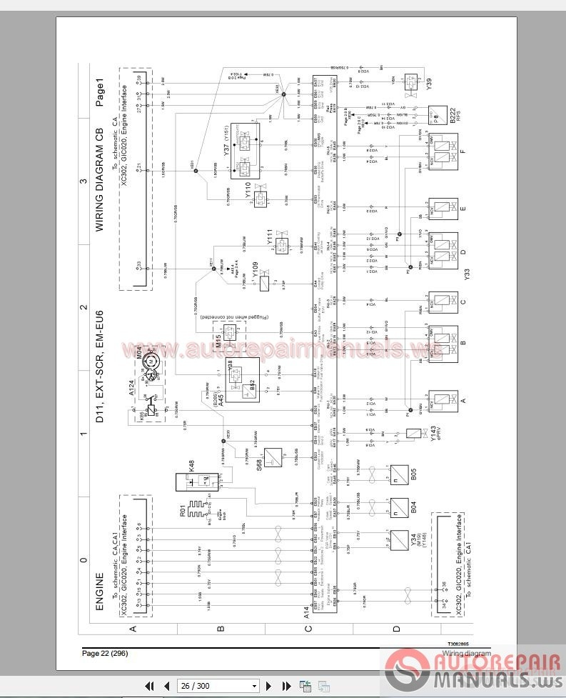 volvo truck fm4 wiring diagram | auto repair manual forum - heavy equipment forums - download ... j1939 wiring diagram key switch engine