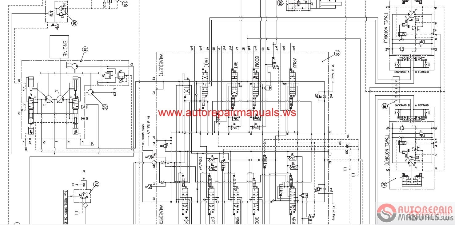 auto repair manuals   arm0048  doosan daios wirings