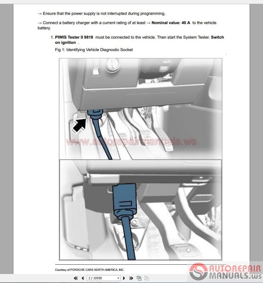 Porsche Cayenne Ii Service Repair Workshop Manual