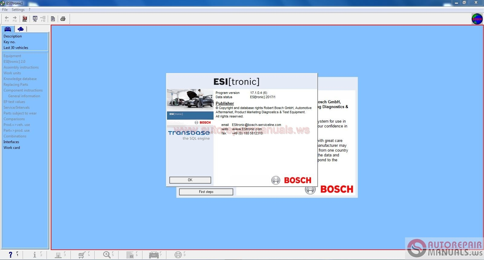 Bosch ESI [tronic] v2.0 [01.2017] | Auto Repair Manual ...
