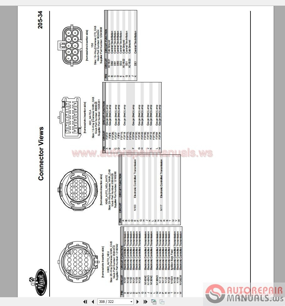 mack trucks 2010 electrical diagram and connectors system mack trucks 2010 electrical diagram and connectors system troubleshooting size 59 2mb language english type pdf pages 322