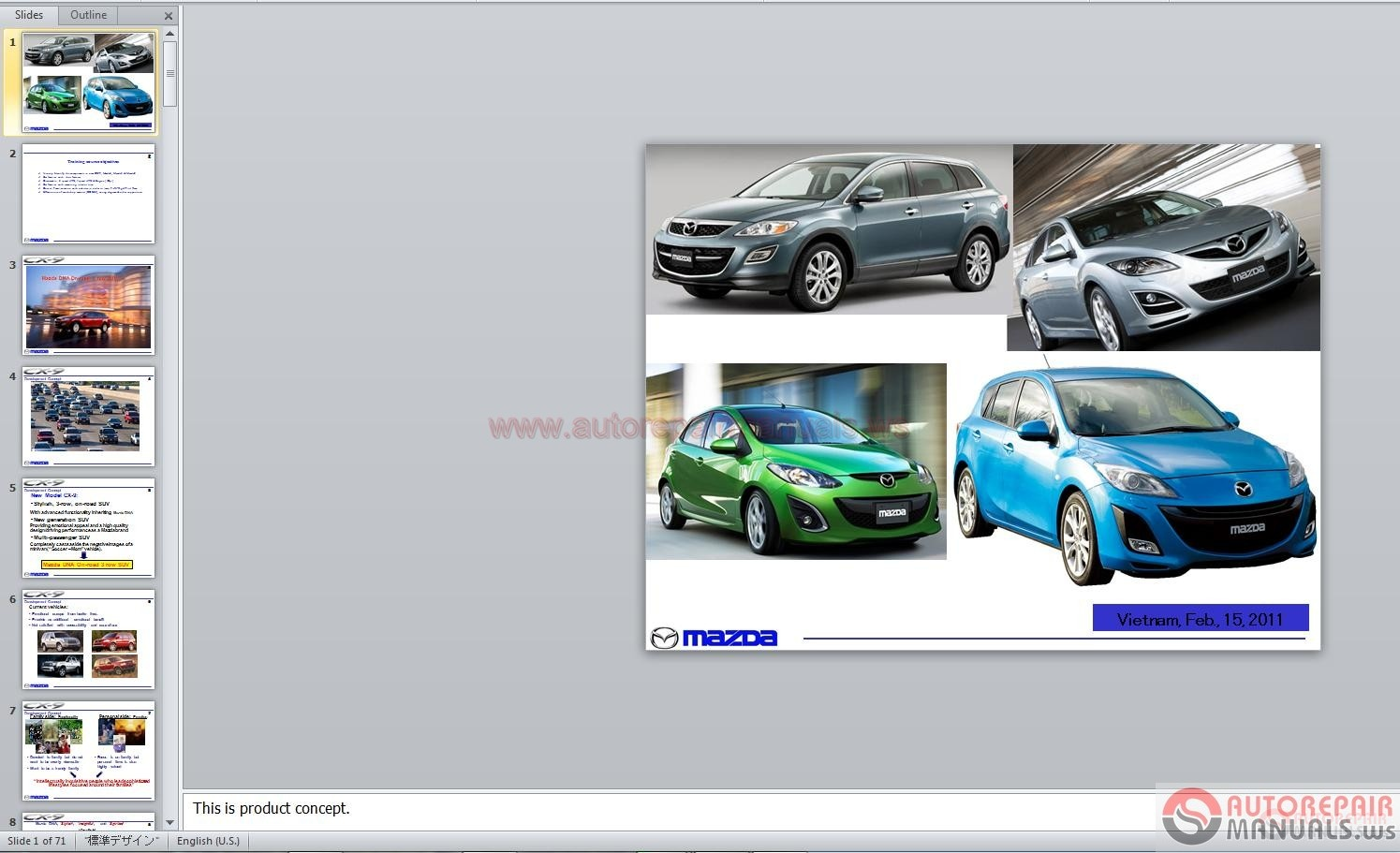 Mazda CX5 Service Training Auto Repair Manual Forum