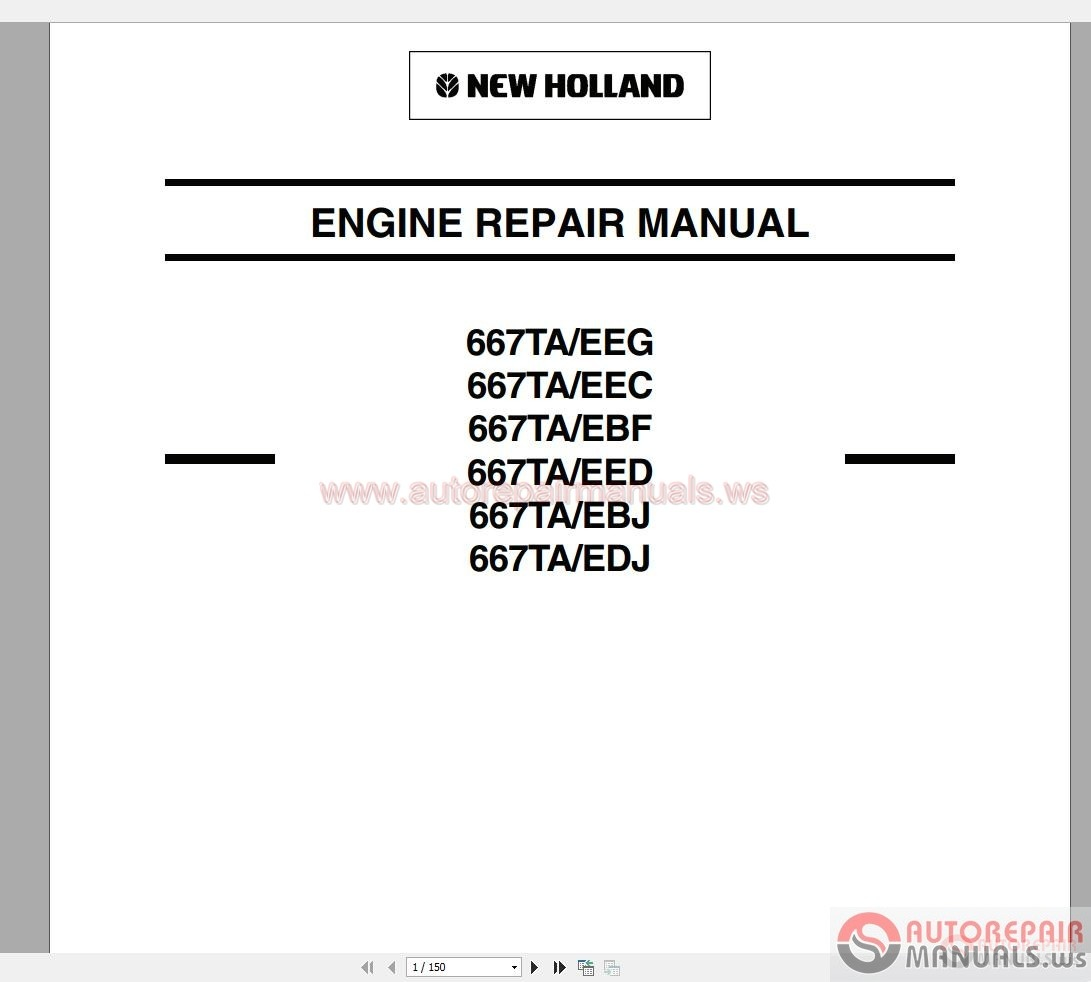 Engine Service Manual Free Auto Repair Manuals