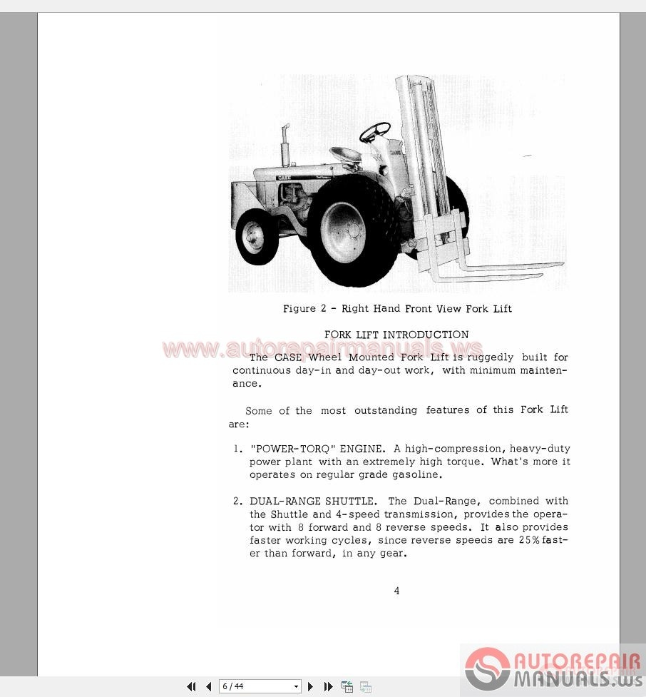Komatsu Fg25 Wiring Diagram Forklift Manual Free Download Repair Downloads Tradebit