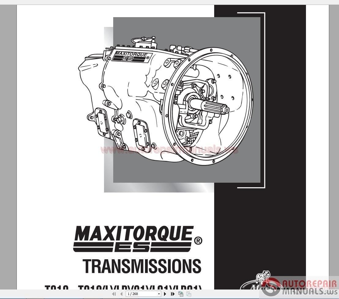 Maxitorque Transmissions T313 U2013t318 L  Lr  21  L21  Lr21