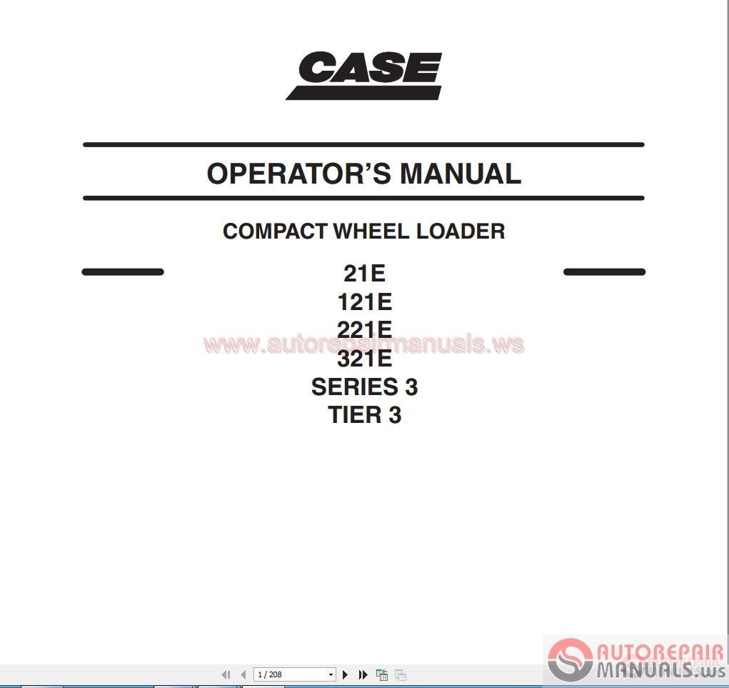 Case 1825 Operators Manual download