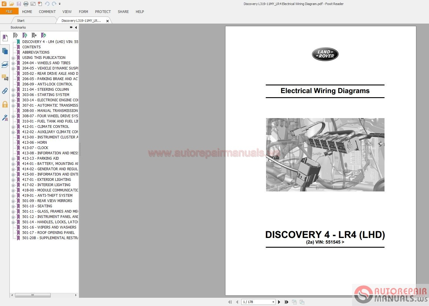 Land Rover Discovery 4 Wiring Diagram Pdf Trusted Diagrams Series 2a Somurich Com 1